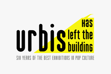 logo for Urbis Has Left The Building exhibition