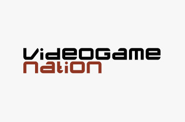 logo for Videogame Nation exhibition at Urbis, Manchester